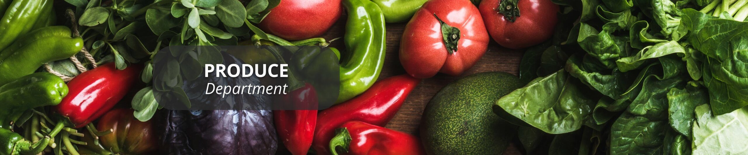 Assortment of peppers, tomatos, avocados and spinach.